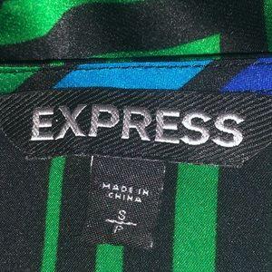 Express Tops - Express Silky Striped Dolman Top